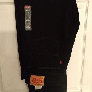 Levis 505 Regular Jeans 38 x 36